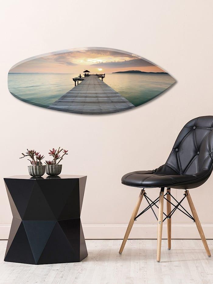 Wandobjekt, Surfbrett