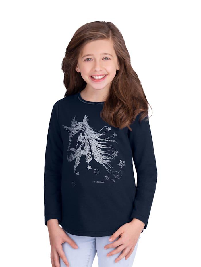 Mädchen Sweater mit Einhorn