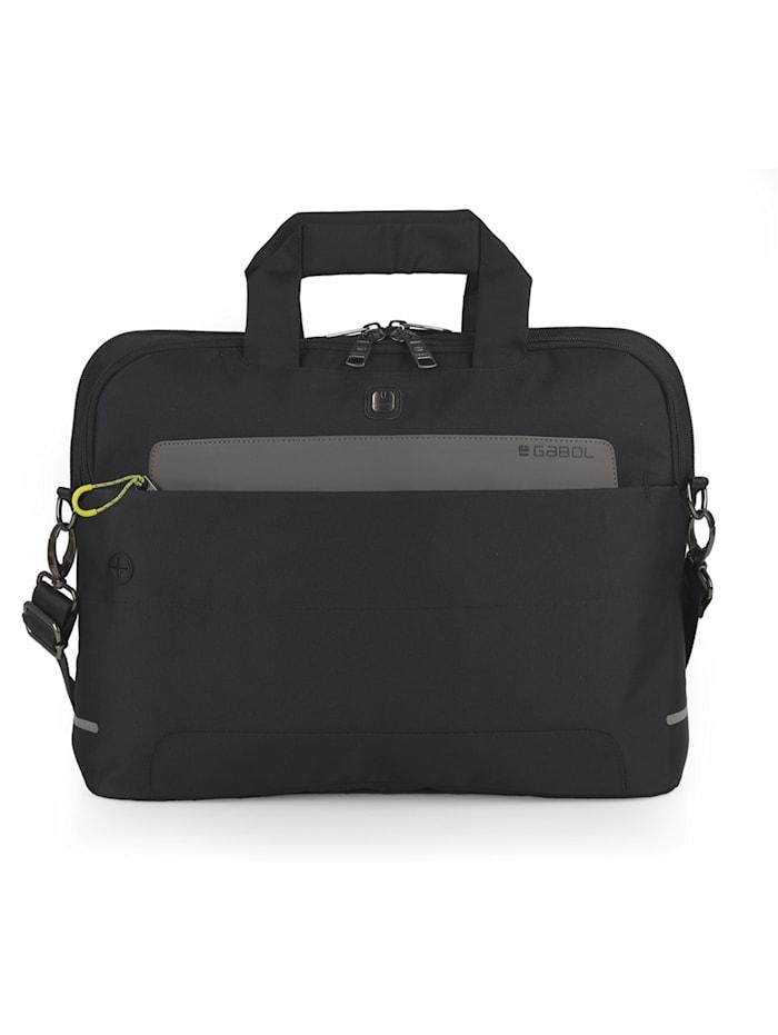 Gabol Traffic Aktentasche 44cm Laptopfach, schwarz