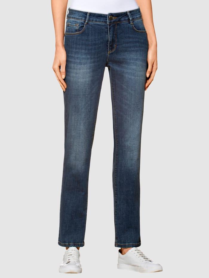 Alba Moda Jeans mit geradem Beinverlauf, Blau