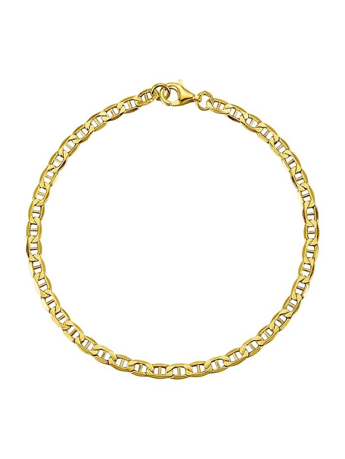 Diemer Gold Ankkuriketju / Ranneketju, Keltakullanvärinen