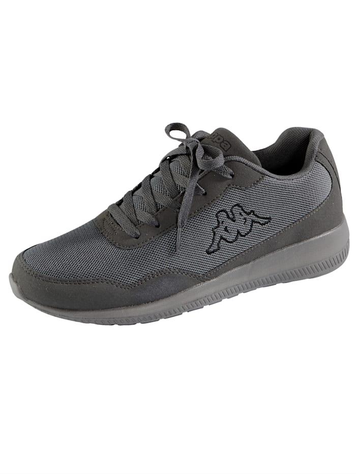 Kappa Sneaker in Mesh-Optik, Grau