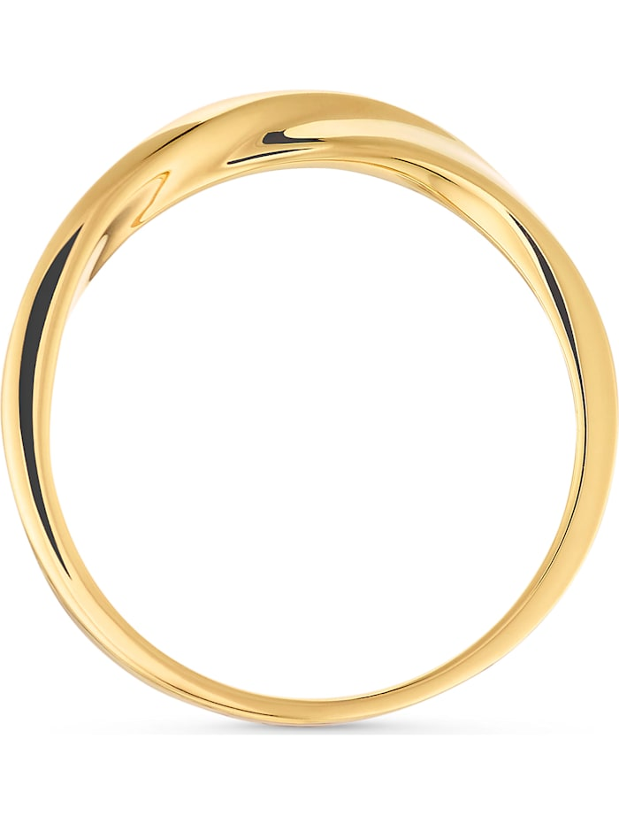 CHRIST Damen-Damenring Ring 585er Gelbgold