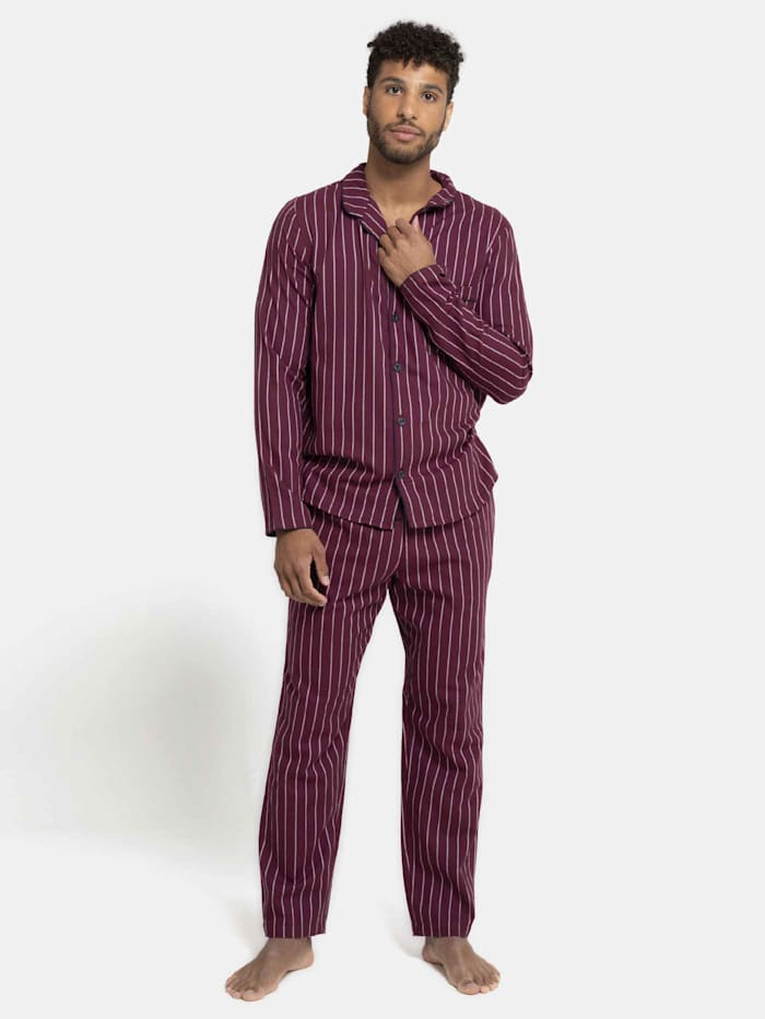 Flanell-Pyjama, lang Made in Germany
