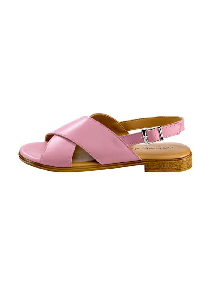 Sandale mit schöner Kreuzbandage