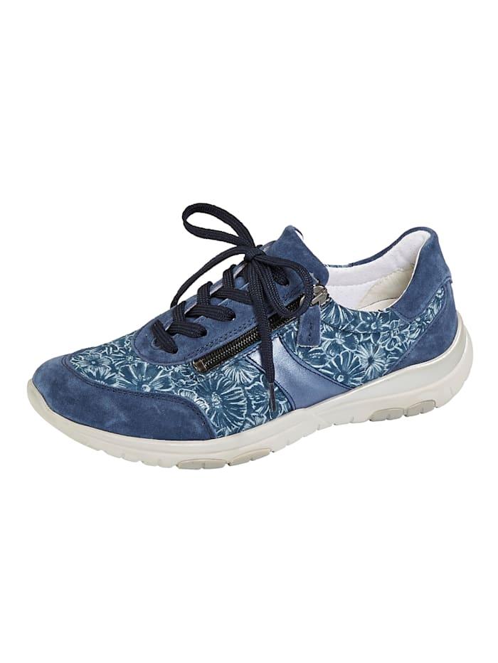 Naturläufer Schnürschuh ideal geeignet für Hallux Valgus, Blau