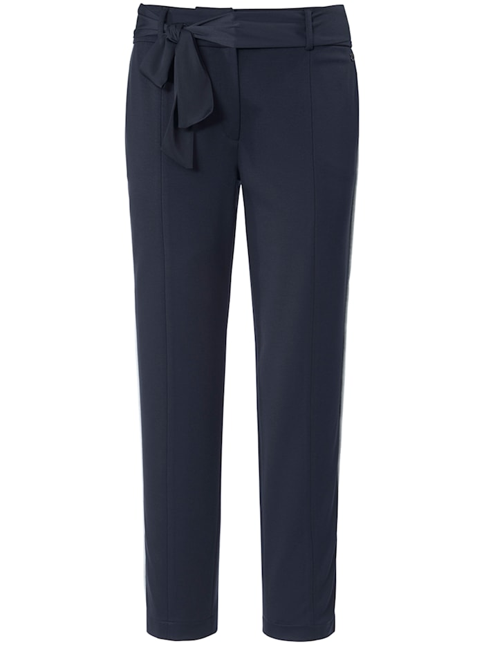 Basler Jersey-Hose LUCA mit Bindeband und Galonstreifen, night blue