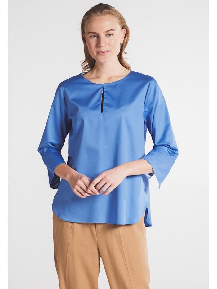 Eterna Eterna Dreiviertelarm Bluse MODERN CLASSIC Eterna Dreiviertelarm Bluse MODERN CLASSIC, königsblau
