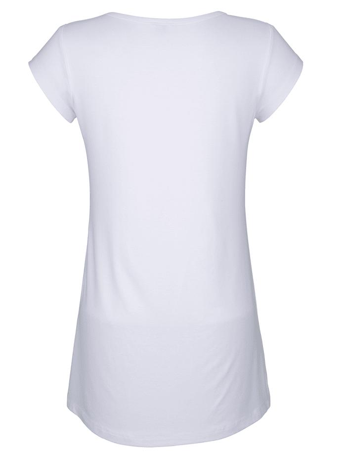 Longshirt mit Schriftzug
