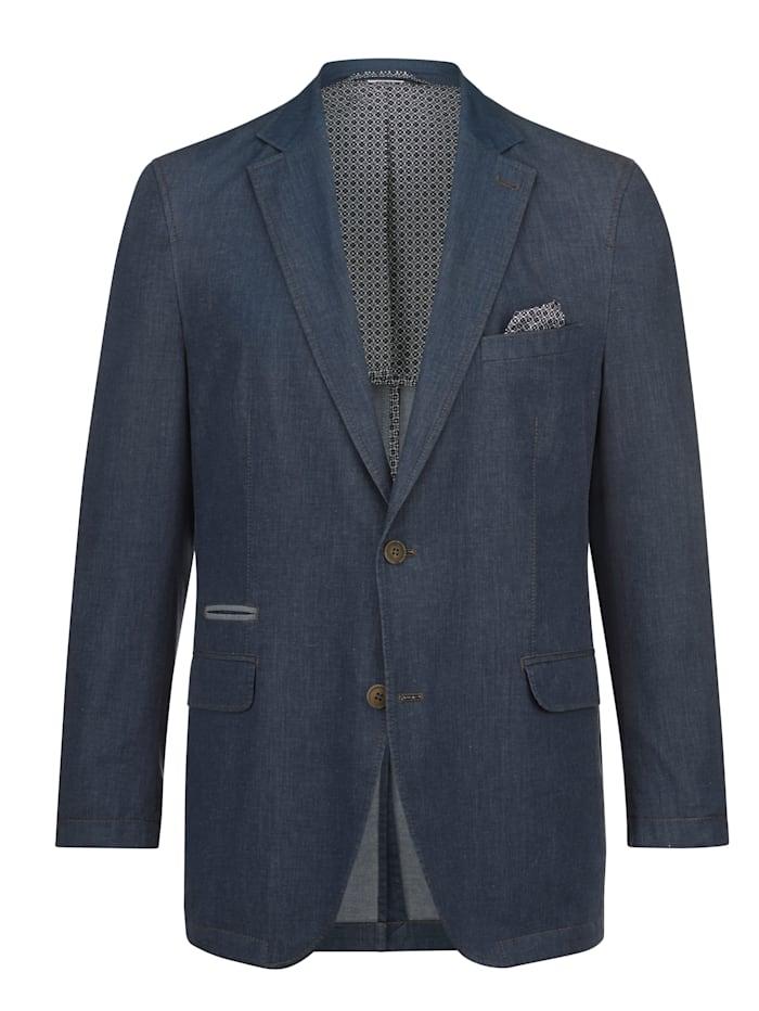 BABISTA Džínsové sako v ľahkej letnej kvalite, Modrá