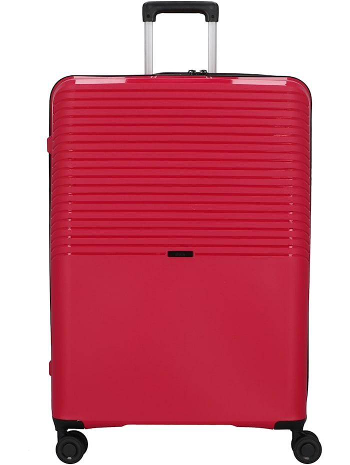 D&N Travel Line 4000 4-Rollen Trolley 76 cm, pink