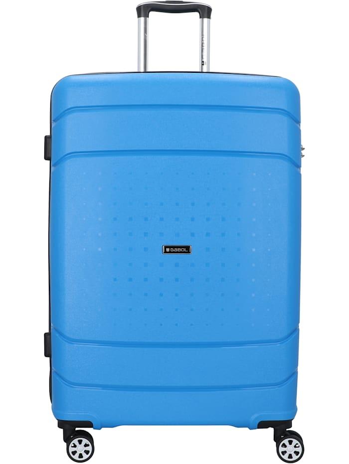 Gabol Shibuya 4-Rollen Trolley 77 cm, blau