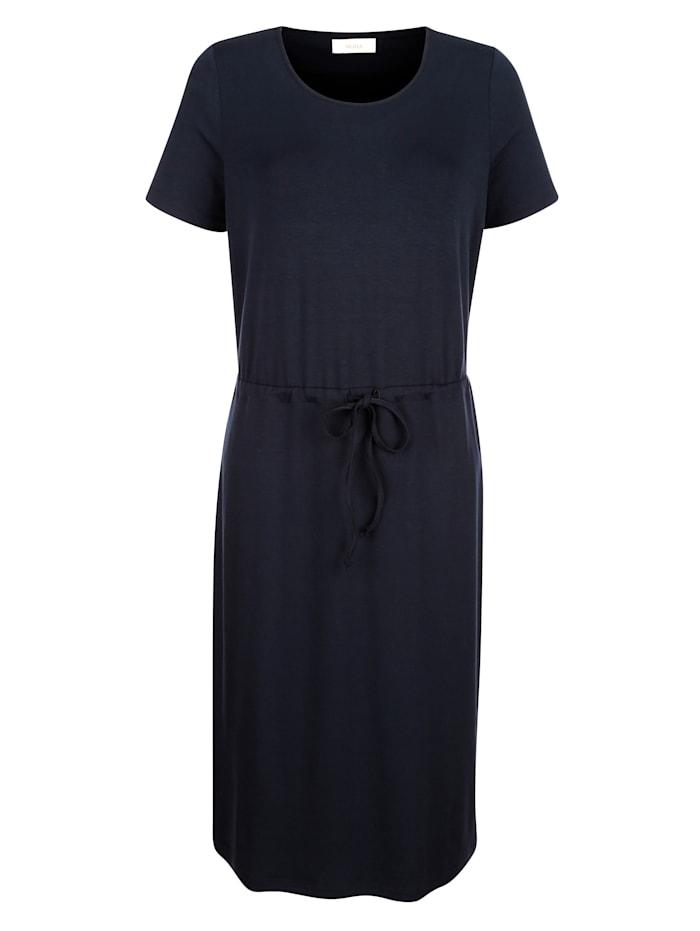 Kleid mit Bindeband in Taillenhöhe