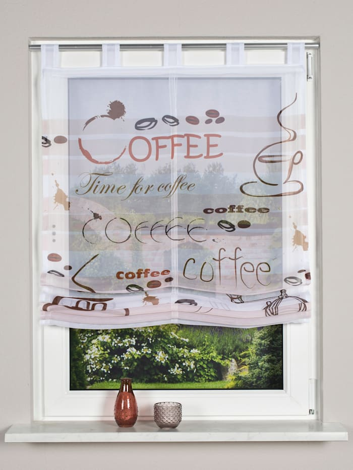 Home Wohnideen Raffrollo 'Caffee', braun
