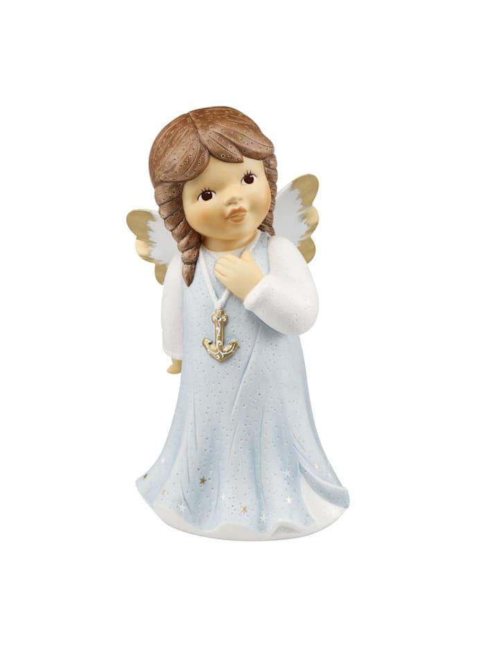 Goebel Goebel Engel Mit Hoffnung wird alles gut, Eisblau