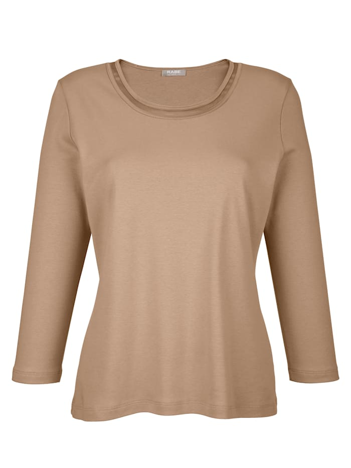 Top made of pure cotton