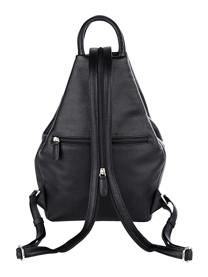 Backpack made from premium leather