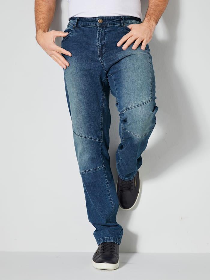Men Plus Jeans Slim-Fit, Blue stone