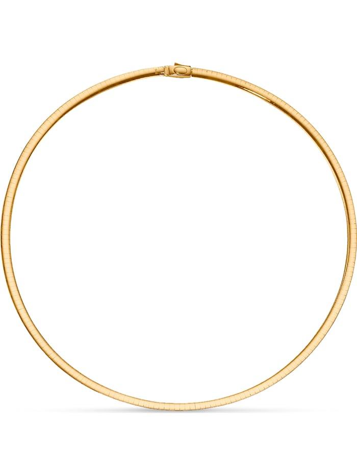 CHRIST C-Collection CHRIST Damen-Halsreif 585er Gelbgold, 925er Silber, bicolor