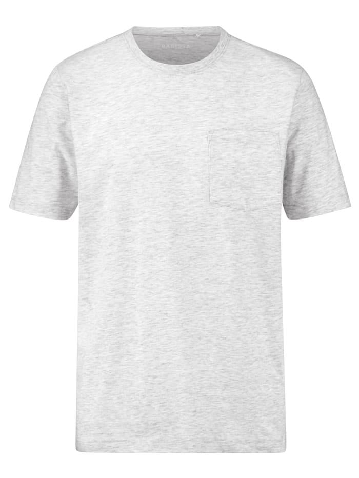 BABISTA T-shirt met borstzak, Grijs