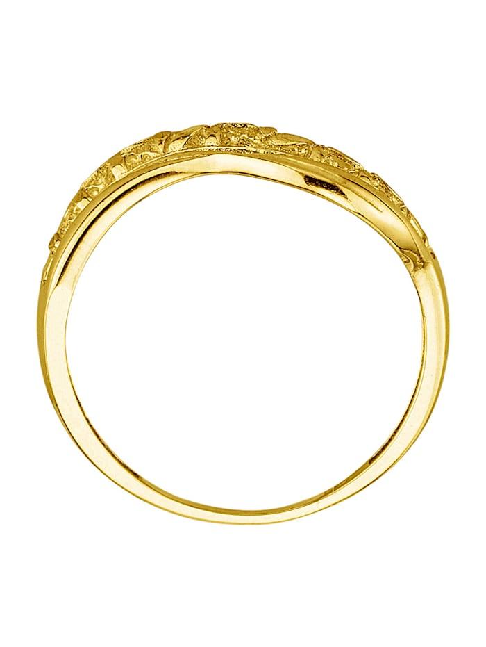 Ring i gull 375