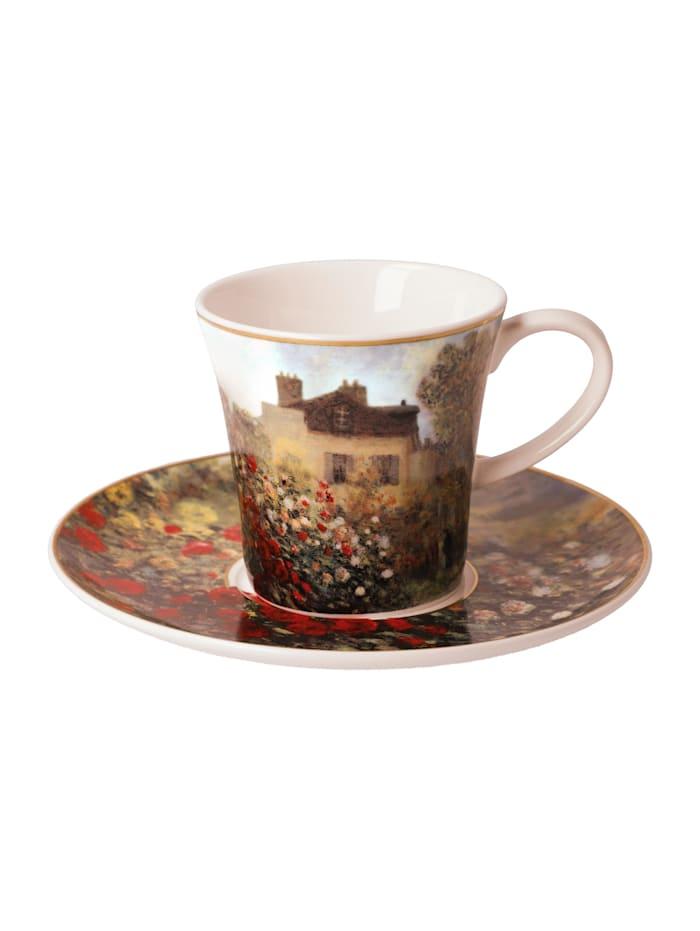 Goebel Goebel Kaffeetasse Claude Monet - Das Künstlerhaus, Monet - Künstlerhaus