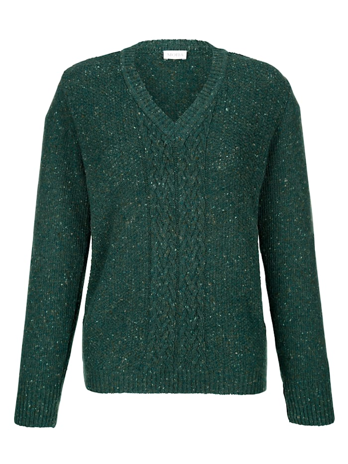 Jumper made from pure wool