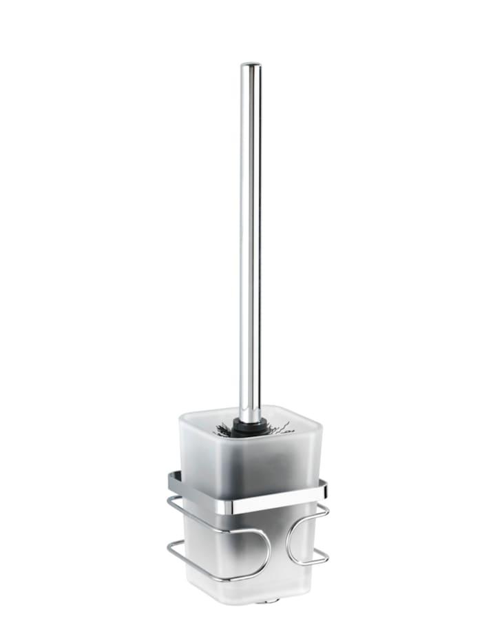 Wenko WC-Garnitur Premium Edelstahl, rostfrei, Glänzend