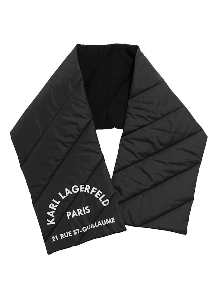 Karl Lagerfeld Schal, schwarz