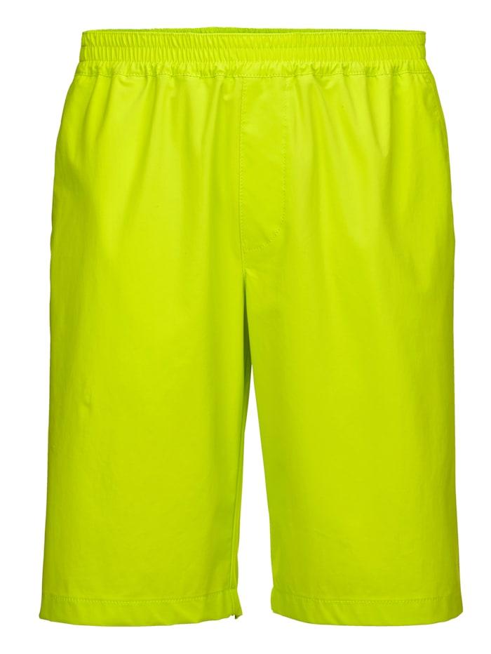 BABISTA Tekniset shortsit – myös uimiseen, Neonkeltainen
