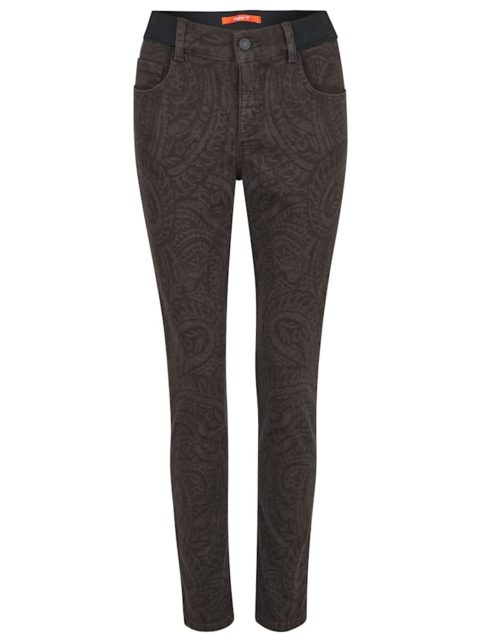 Angels 'One Size Fits All' mit Paisley-Muster, dark chocolate