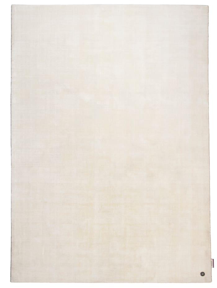 Tom Tailor Handarbeitteppich Shine Uni, Weiß