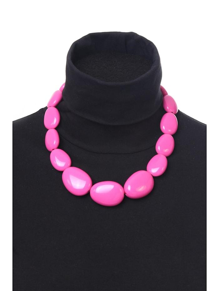Kurze Kette Bärbel aus unterschiedlichen Perlen