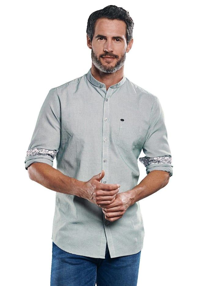 Engbers Hemd uni, Tannengrün