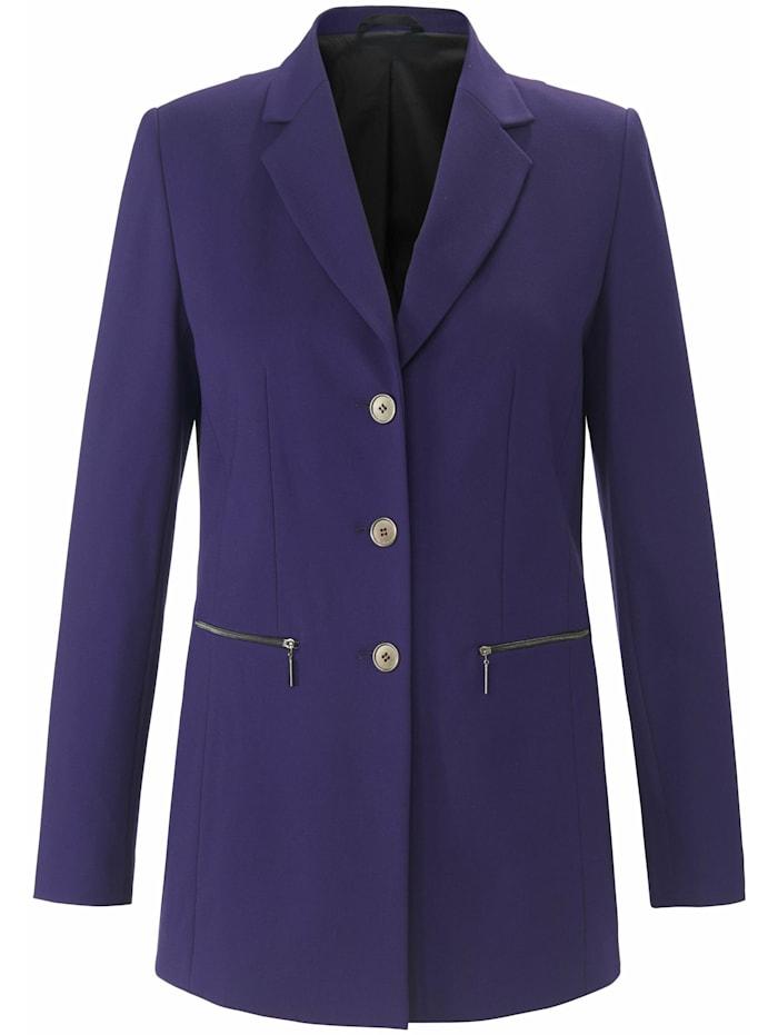 Emilia Lay Sweatblazer Jersey-Blazer, lila