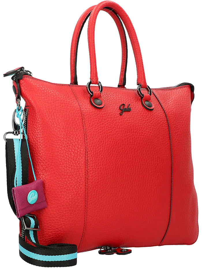 Week Plus Handtasche Leder 27 cm