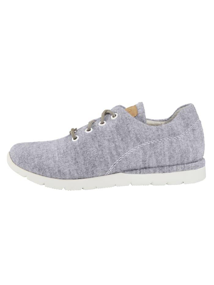 Sneaker aus hochwertiger Merino-Wolle