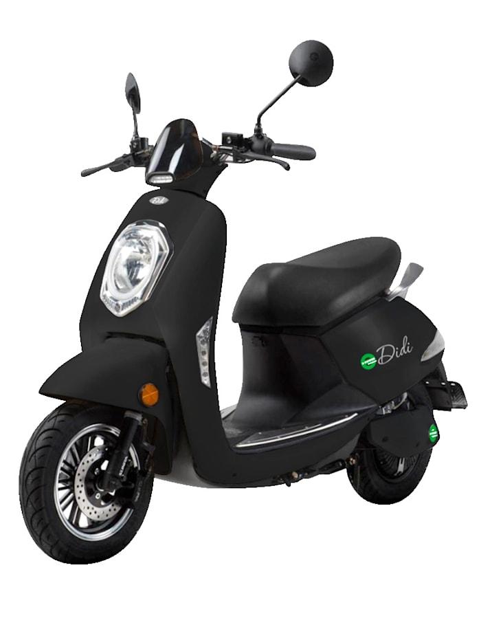 "SANTA TINA DIDI THURAU EDITION Elektroroller ""Roma"" Blei-Gel 60V/20Ah - 45 km/h, schwarz"