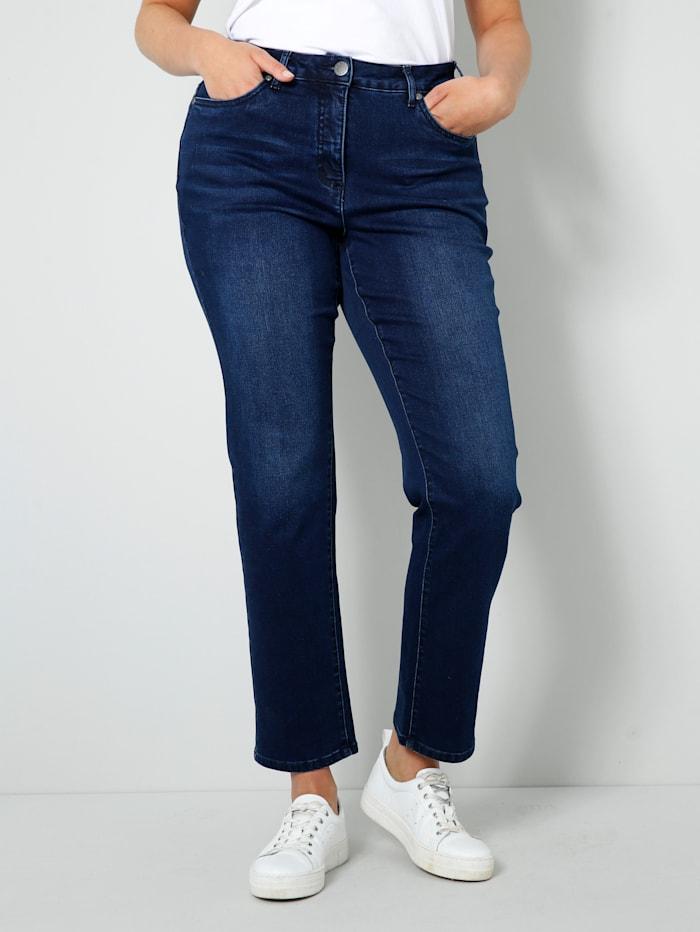 Janet & Joyce Jeans mit Shape-Effekt, Dark blue