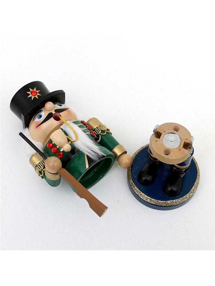 Holz Räuchermann Nussknacker-Soldat