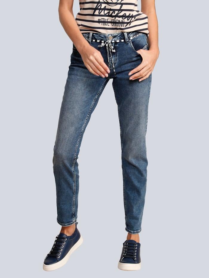 Rosner Jeans im Boyfriend-Style, Blau