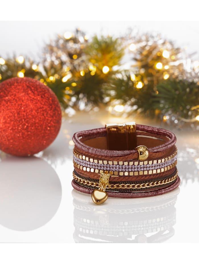 Bracelet, Marron