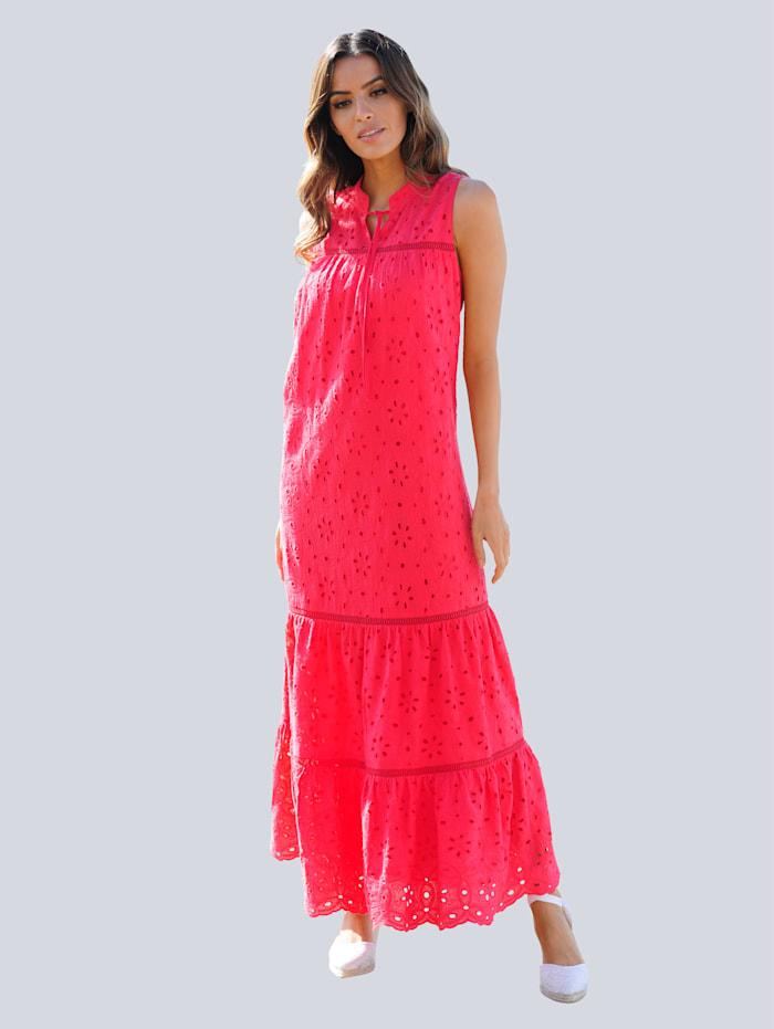 Alba Moda Strandkleid in Maxilänge, Rot