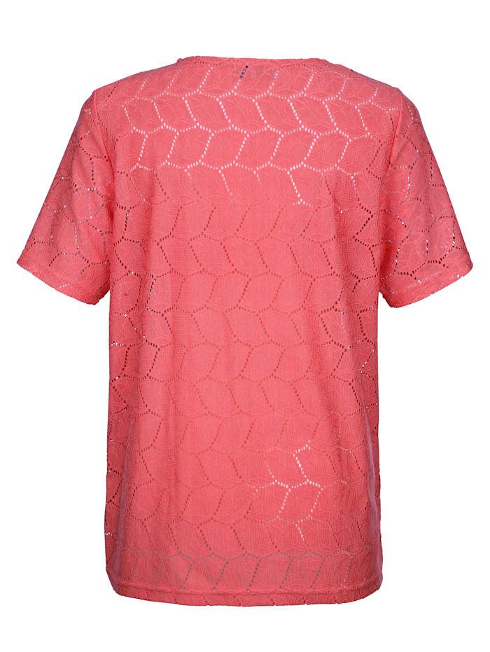 Shirt in edler Spitzen-Qualität rundum
