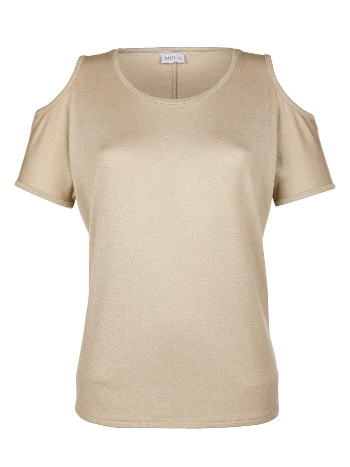 Shirt mit Glanzgarn