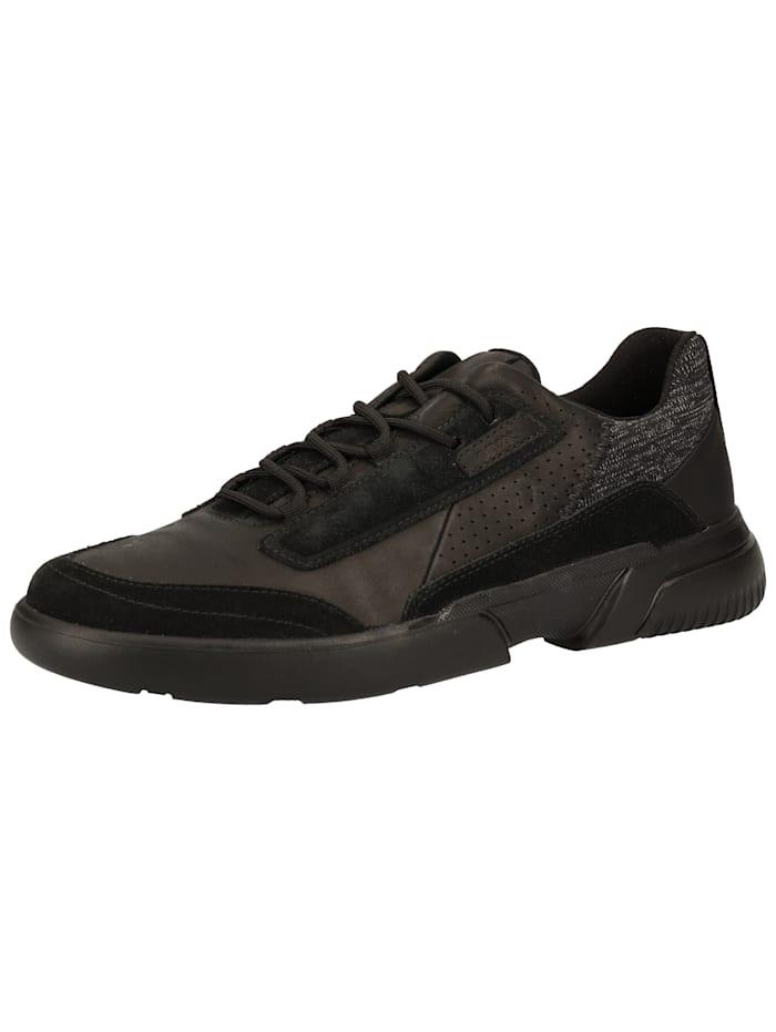 Geox Geox Sneaker, Schwarz/Schwarz