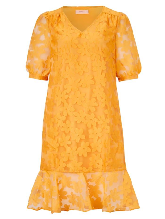 SIENNA Kleid, Sonnengelb