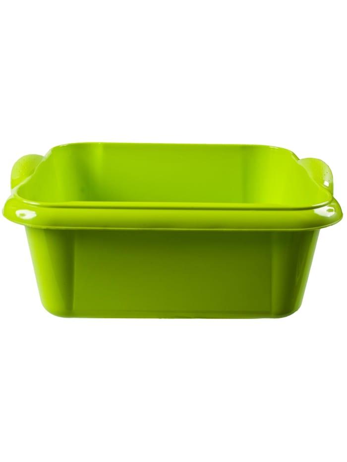 HTI-Living Spülschüssel 10 Liter Quadratisch, Grün