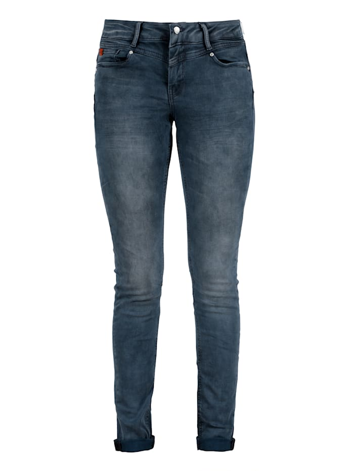 Miracle of Denim Skinny Fit Jeans im 5-Pocket-Style, Richmond Blue