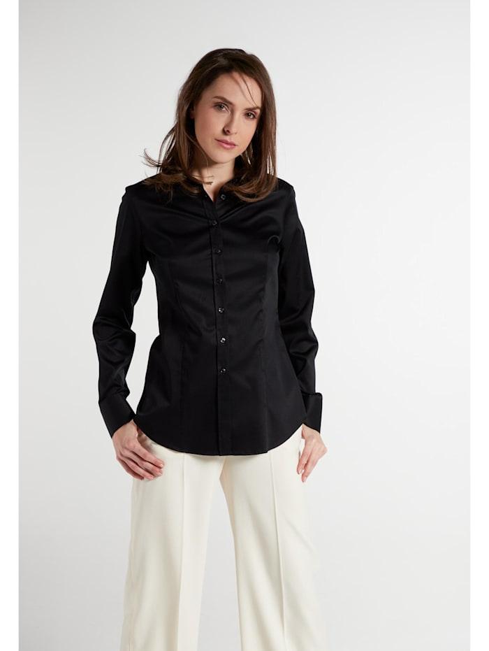 Eterna Eterna Langarm Bluse MODERN CLASSIC Eterna Langarm Bluse MODERN CLASSIC, schwarz